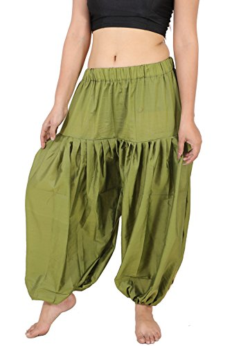 Wevez Women's Silk Boho Harem Pants, One Size, Assorted Pack of -