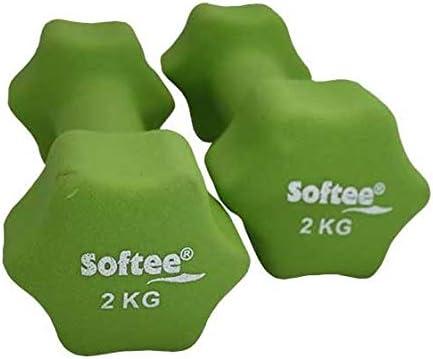 Softee Equipment Pesas Neopreno Hexagonales 2x0,5 Kg