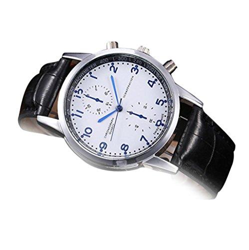 Siviki Men Wrist Watch, Swiss Army Chrono Classic Chronograph Watch (Dark Blue)