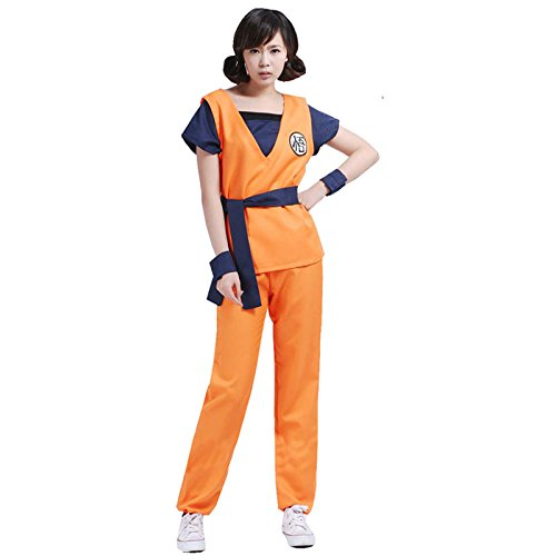 Dragonball-Z-Son-Goku-Kame-Trainingsanzug-Cosplay-Kostm-costume