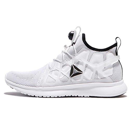 Reebok Herren Pump Plus Cage Laufschuhe Weiß (White / Black)