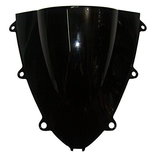 GZYF Black Motorcycle Tinted Windshield Windscreen Set for Honda CBR 1000rr 2008 2009 2010 2011