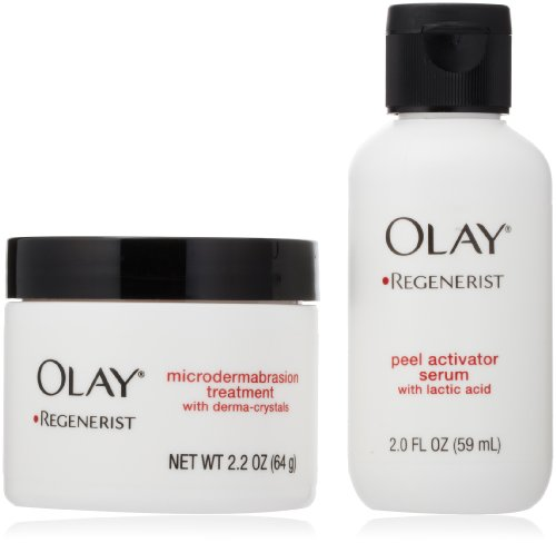 Olay Regenerist Microdermabrasion 2.2 Oz & Peel System Skin Care 2.0 Fl Oz