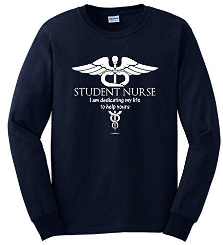Student Nursing School Sleeve T Shirt