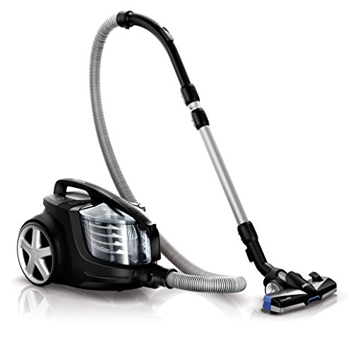 Philips PowerPro Ultimate Bagless Cylinder Vacuum Cleaner with Allergy...