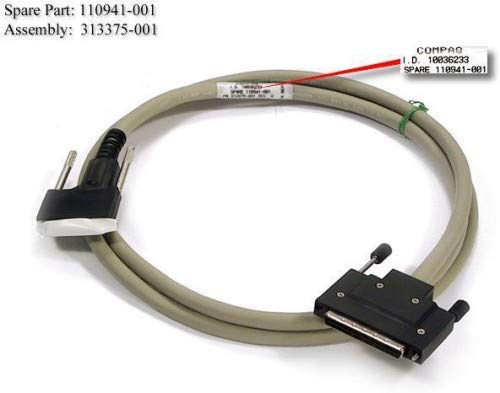 - Hewlett Packard Enterprise SCSI INTERFACE CABLE 1,8 M 6FT, 110941-001, 341176-B21