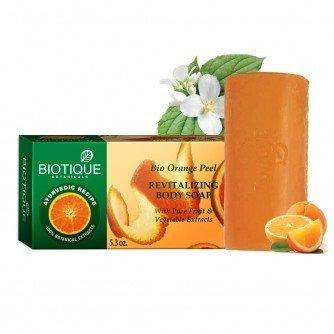 Biotique Bio Orange Peel Revitalizing Body Soap With Pure Fruit & Vegetable Extracts 150 ()