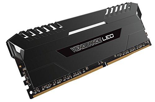 Corsair Vengeance 64GB (4x16GB) DDR4 3200 (PC4-25600) C16 for Intel 100, White LED (CMU64GX4M4C3200C16) by Corsair (Image #2)