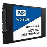 WD Blue 3D NAND 250GB SATA III 6Gb/s 2.5-inch 7mm Solid State Drive (WDS250G2B0A)