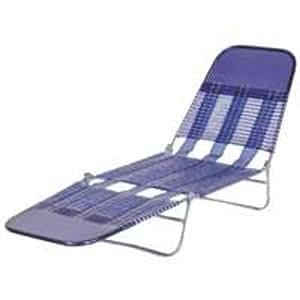 Pvc folding chaise royal blue home kitchen - Chaise pvc transparente ...