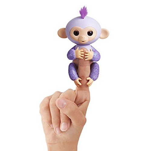 Wowwee Exclusive KiKi Glitter PURPLE Fingerling