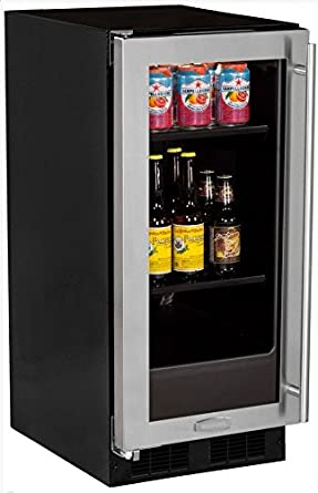 Amazon aga marvel ml15bcg1ls beverage center left hinge aga marvel ml15bcg1ls beverage center left hinge stainless steel frame and glass door 15 planetlyrics Image collections
