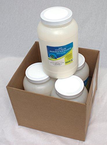 Food Grade Diatomaceous Earth 4-2.5lb jugs - 4-Pack