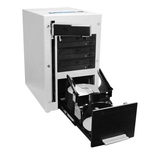 Vinpower THE CUBE SATA Robotic Automatic DVD CD Duplicator + 500GB Hard Drive (3 Target 60 Disc)