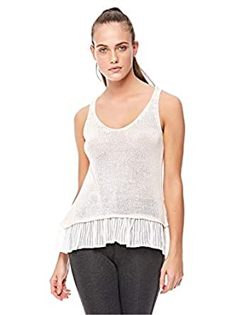 Stradivarius Cami & Strappy Tops For Women, White S