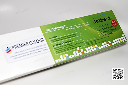 JETBEST MAX, 440mL Eco Solvent Ink Cartridge, for Roland ECO SOL MAX (6 Color) (Magenta) by JETBEST (Image #1)