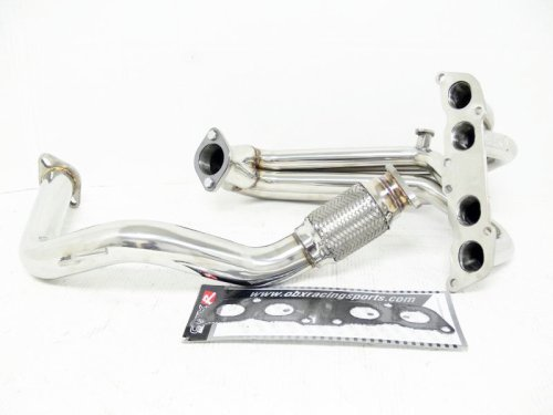 (OBX Performance Exhaust Manifold Header 91-95 Toyota MR2 Non-Turbo 4-1)