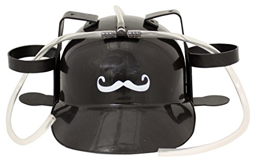 Island Dogs Mustache Drinking Hat
