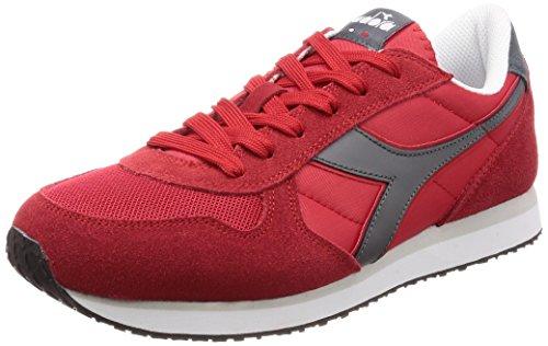 con Hombre Rojo Castello Carminegrigio Diadora Plataforma Rosso para II Sandalias K Run HSSx8q0I