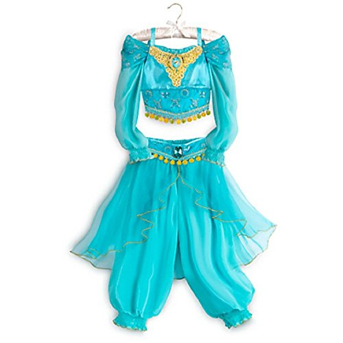 DISNEY STORE PRINCESS JASMINE ALADDIN COSTUME DRESS - 2016 (5/6) (Jasmine In Aladdin Costumes)