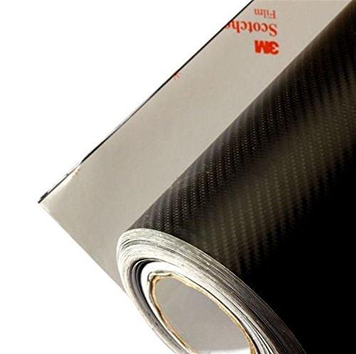 3m Scotchprint 1080 Carbon Fiber Vinyl Flex Wrap Black 3m