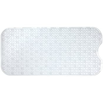 Amazon Com Slipx Solutions Clear Prism Bath Mat Provides