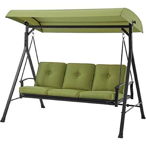 (Mainstays Belden Park 3-Person Hammock Swing (Green) )