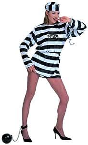 Widmann 34981 - Disfraz de presa Familia Addams Morticia para mujer (talla S)