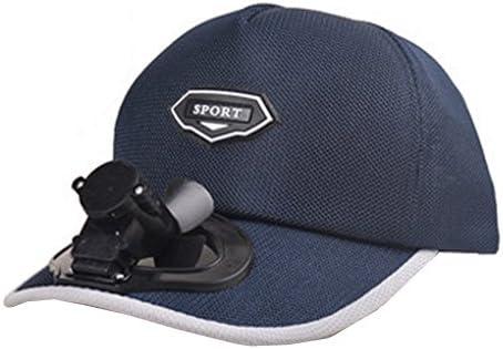 夏のファン帽子、ファン釣りサンバイザーキャップ#F