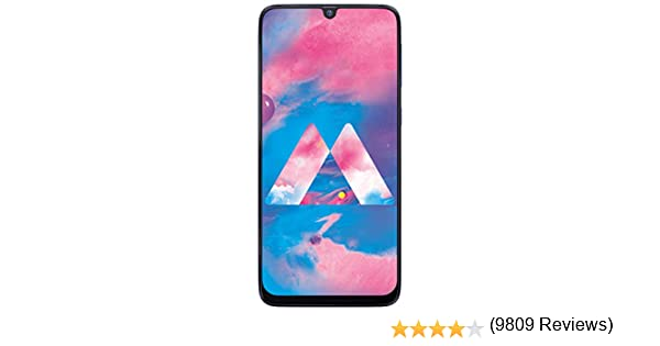 SAMSUNG Galaxy M30 Dual Sim 32GB LTE 4G Blue 3GB RAM M305F: Amazon ...
