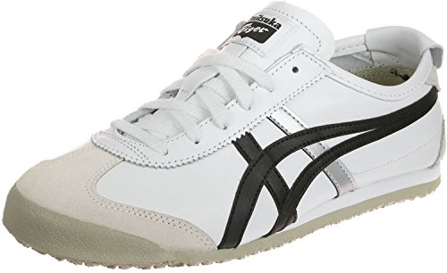 Asics Mexico 66, Zapatillas Unisex Adulto Blanco (Whiteblack)