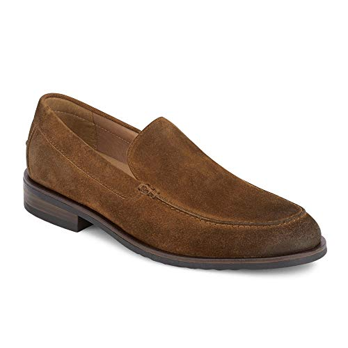Lucky Brand Men's Canton Loafer, Dark tan Suede, 10 M US