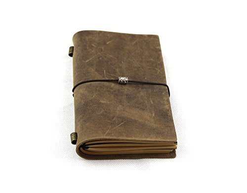 PASSION juneTree vintage geniune leather notebook diary diary diary notepad notebook handmade Traveler's Notebook D0408 by PASSION B018OR1CZ2 | Verschiedene Arten Und Die Styles  | Verschiedene Stile  | Mittel Preis  5806bf