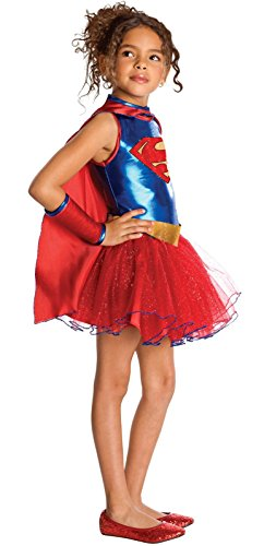 Supergirl Tutu Kids Costume - Small (Supergirl Tutu Kids Costumes)