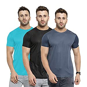 AWG – All Weather Gear Men's Regular Fit T-Shirt(Pack of 3)