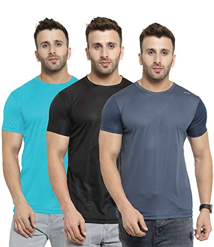 419El32TyVL AWG - All Weather Gear Men's Regular Fit T-Shirt(Pack of 3)