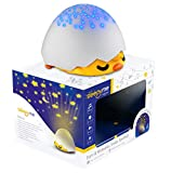 SleepyMe Smart Sleep Soother | Baby Star Projector | White Noise Sound Machine | Baby Gifts | Portable Sleep Aid Night Light with 10 Songs for Crib | Shusher Sound Machine from Birth to School