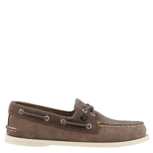 SPERRY Men's Topsider, Authentic Original Boat Shoe Charcoal 10 M]()