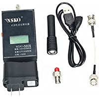 NSKI Mini Radio Frequency Meter With CTCSS/DCS Decoder or Handheld Portable Frequency Counter NSKI-560S Text Walkie Talkie