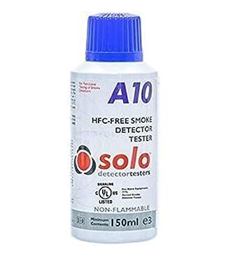 Aerosol humo sintético- Comprobador de detectores de humo SOLO A10: Amazon.es: Industria, empresas y ciencia