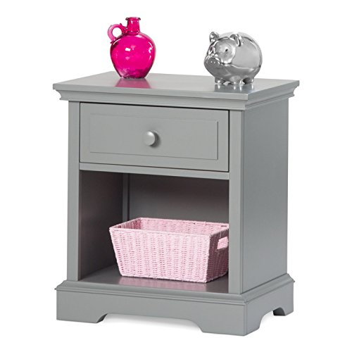 Child Craft Universal Select Night Stand, Cool Gray