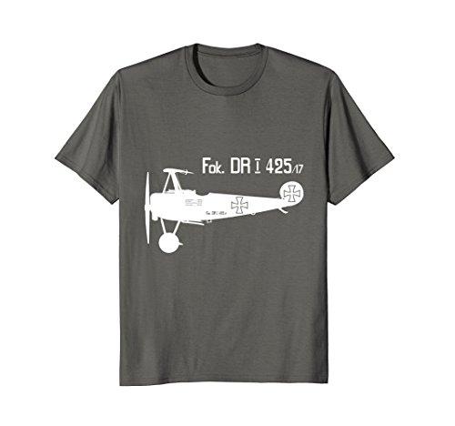 Mens Fokker DRI ww1 Military Triplane Aircraft Richthofen Plane Large - Aircraft Ace