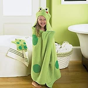 Hooded Kids Bath Towels