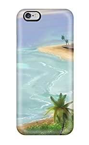 TYH - 1362585K75134350 Quality Case Cover With Landscape Nice Appearance Compatible With ipod Touch4 phone case