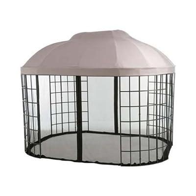Garden Winds Oval Dome Gazebo Replacement Canopy Top Cover -350 : Garden & Outdoor