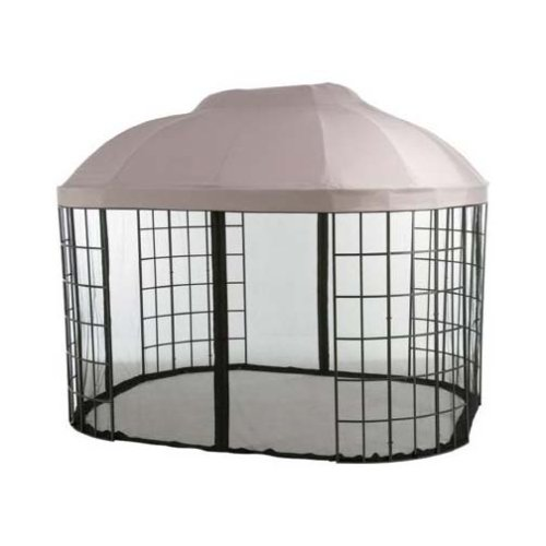 Awnings Home Depot - Garden Winds Replacement Canopy for Home Depto'S Pacific Casual Oval Dome Gazebo