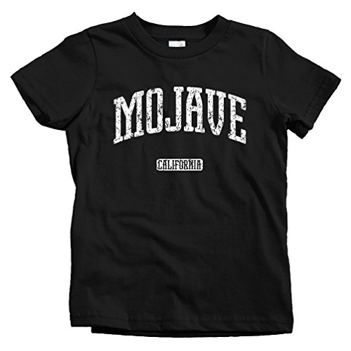 Smash Vintage Kids Mojave California T-shirt - Black, Toddler 5/6T (City Of Victorville)