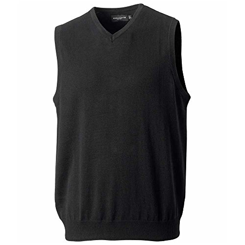 Russell Collection - Pull - Homme Noir Noir