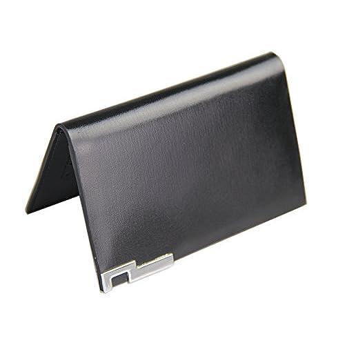 Sale Mens Genuine Leather Bifold Wallet Purse Business Credit Card Holder Black