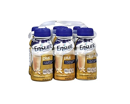 Ensure Plus Homemade Vanilla Shake - 8 oz. - 24 pk. by Abbott Nutrition (Ensure Plus Cans compare prices)